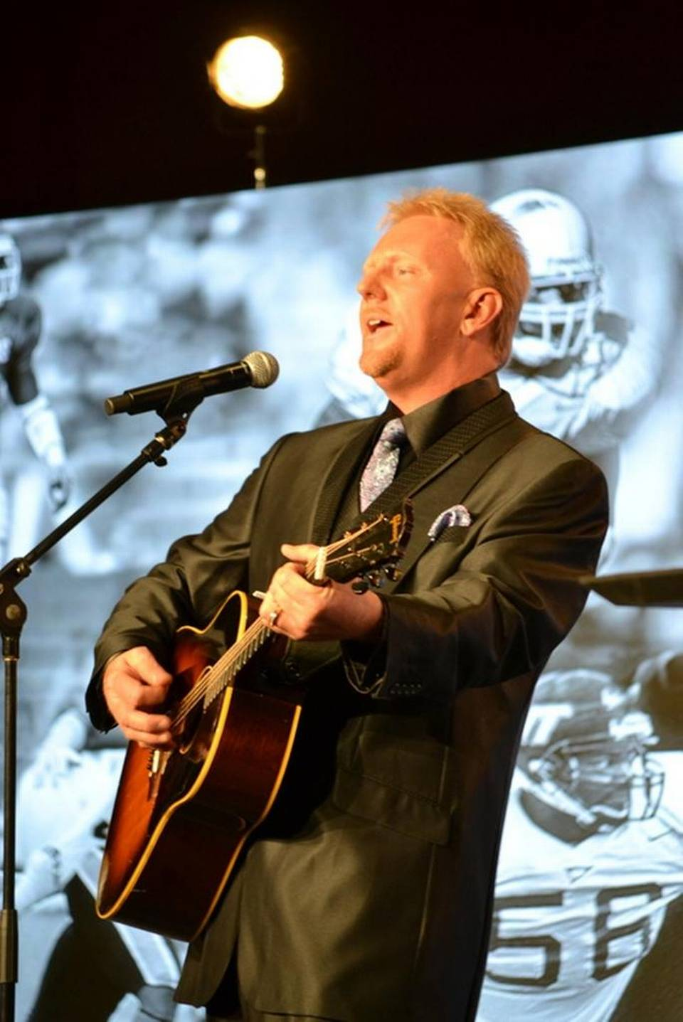 Singer Shares His Talents, Songs Locally